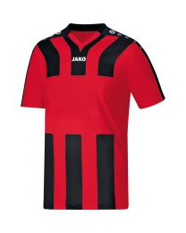 JAKO Shirt Santos KM rood/zwart