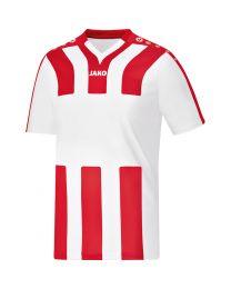 JAKO Shirt Santos KM wit/rood