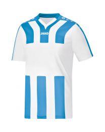 JAKO Shirt Santos KM wit/hemelsblauw