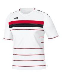 JAKO Shirt Champ KM wit/rood/zwart