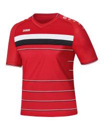 JAKO Shirt Champ KM rood/wit/zwart