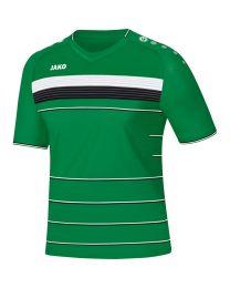 JAKO Shirt Champ KM sportgroen/wit/zwart