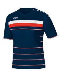 JAKO Shirt Champ KM navy/wit/flame