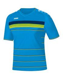 JAKO Shirt Champ KM JAKO blauw/navy/fluogeel