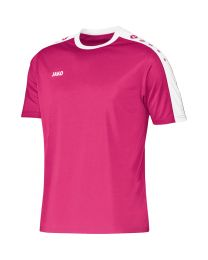 JAKO Shirt Striker KM fuchsia/wit