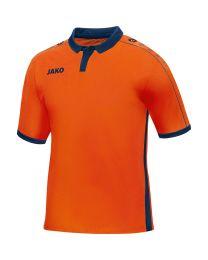 JAKO Shirt Derby KM flame/navy