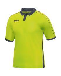 JAKO Shirt Derby KM lime/antraciet