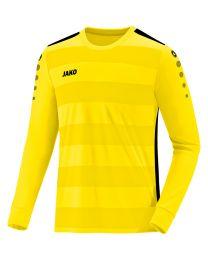 JAKO Shirt Celtic 2.0 LM lightgeel/zwart