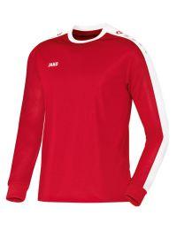 JAKO Shirt Striker LM rood/wit