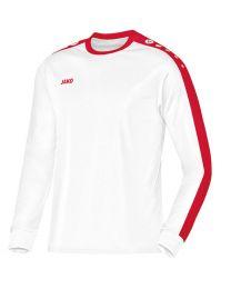 JAKO Shirt Striker LM wit/rood