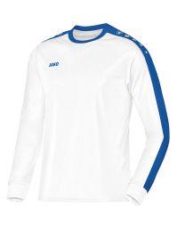 JAKO Shirt Striker LM wit/royal
