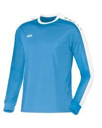 JAKO Shirt Striker LM hemelsblauw/wit