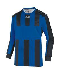 JAKO Shirt Milan LM royal/zwart