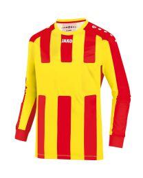 JAKO Shirt Milan LM citroen/rood