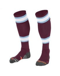 League Kous Maroon Wit Sky Blue