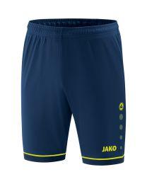 JAKO Short Competition 2.0 navy/lemon