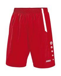 JAKO Short Turin rood/wit