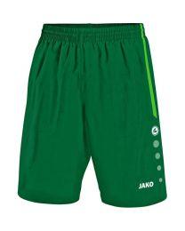 JAKO Short Turin groen/sportgroen