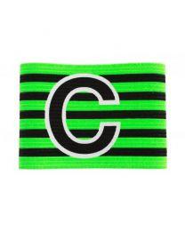 Aanvoerdersband verstelbaar Groen - Zwart