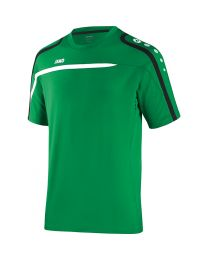 JAKO T-Shirt Performance sportgroen/wit/zwart