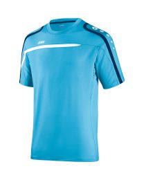 JAKO T-Shirt Performance aqua/wit/marine