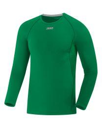 JAKO Shirt Compression 2.0 LM sportgroen