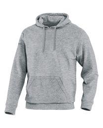 JAKO Sweater met kap Team grijs gemeleerd