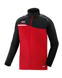 JAKO Regenjas Competition 2.0 rood/zwart