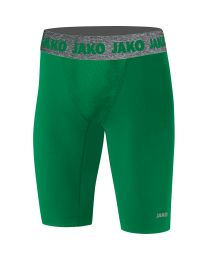 JAKO Short Tight Compression 2.0 sportgroen