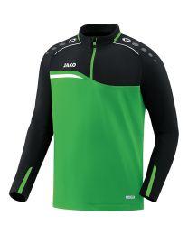 JAKO Ziptop Competition 2.0 soft groen/zwart