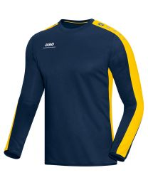 JAKO Sweat Striker marine/geel