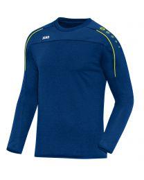 JAKO Sweater Classico nachtblauw/citroen