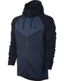 Nike Tech Fleece Hoodie Obsidian Heather