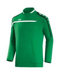 JAKO Sweater Performance sportgroen/wit/zwart