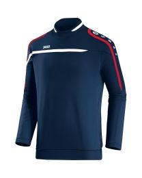 JAKO Sweater Performance marine/wit/rood