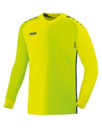 JAKO Keepershirt Competition 2.0 lemon/navy