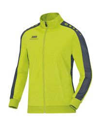JAKO Polyestervest Striker lime/antraciet