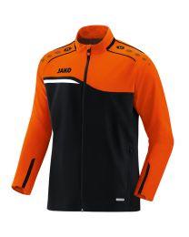 JAKO Vrijetijdsvest Competition 2.0 zwart/fluo oranje
