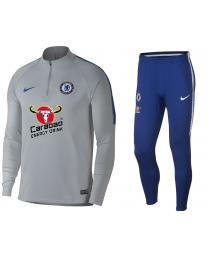 Nike CFC M NK DRY SQD DRIL SUIT Grijs
