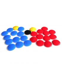 JAKO Reserve magneten voor het tactiekbord 27 magneten