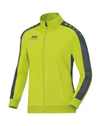 Jako Striker Polyestervest Lime Antraciet