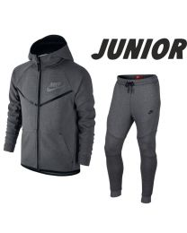 NIKE Tech Fleece Joggingsuit Junior Grijs