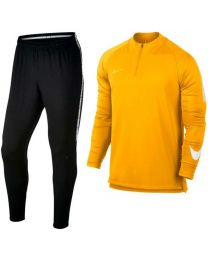 Nike Dry Squad Drill Trainingspak Laser Orange Black