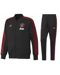 Adidas MUFC PRE SUIT Black / Blaze