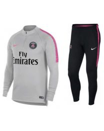Nike PSG M NK DRY SQD DRIL SUIT Grijs
