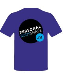 Shirt Personal Body Shape BLAUW