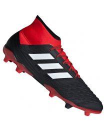 Adidas PREDATOR 18.3 FG JR Zwart Wit Rood