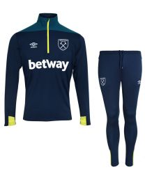 Umbro WHU HALF ZIP TOP SUIT